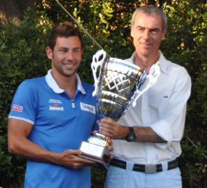 Consegna del primo premio coppa byron 2012